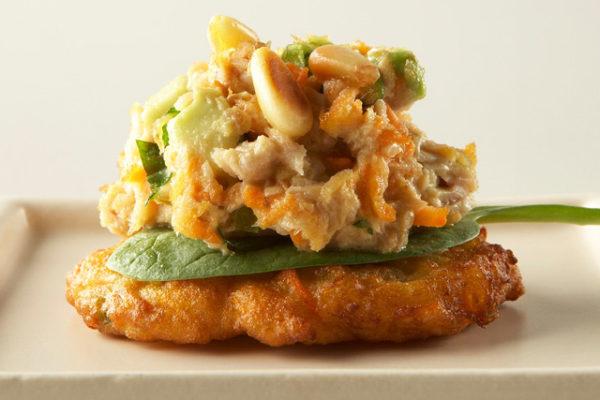 Tuna-Topped Carrotcake, Wedding Catering Finger Food, Mornington Peninsula