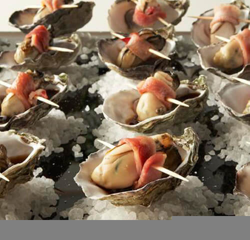 Tray of Oysters and Seafood, Wedding Catering/Food Mornington Peninsula