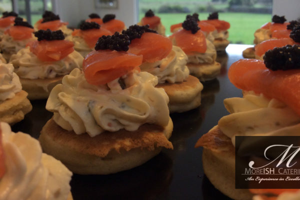 Savoury Canapes, Finger Food 2
